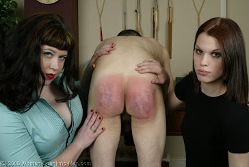 When his wife finds out we had to spank him....