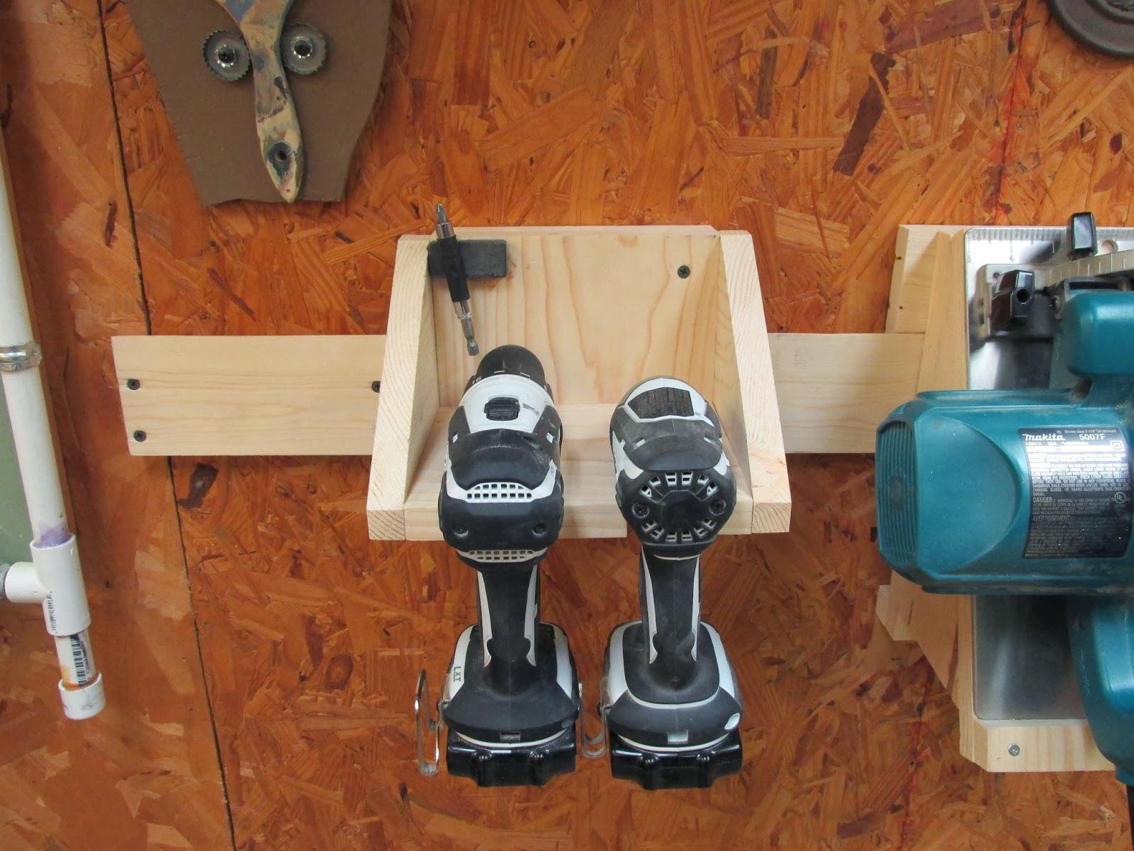 Wilker Do S Diy Power Tool Storage System