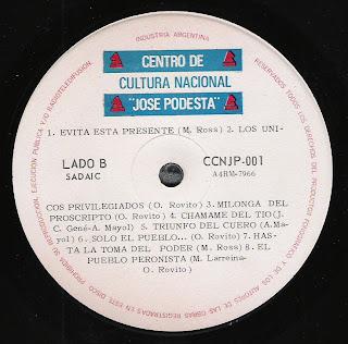 Varios: Cancionero de la liberacion (1973)