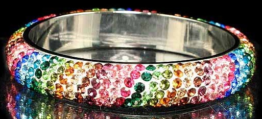 Rhinestone Bangle Viktor Viktoria