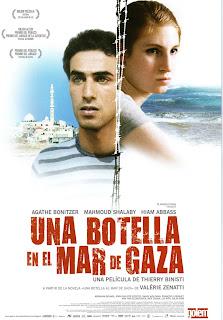Una botella en el Mar de Gaza Poster