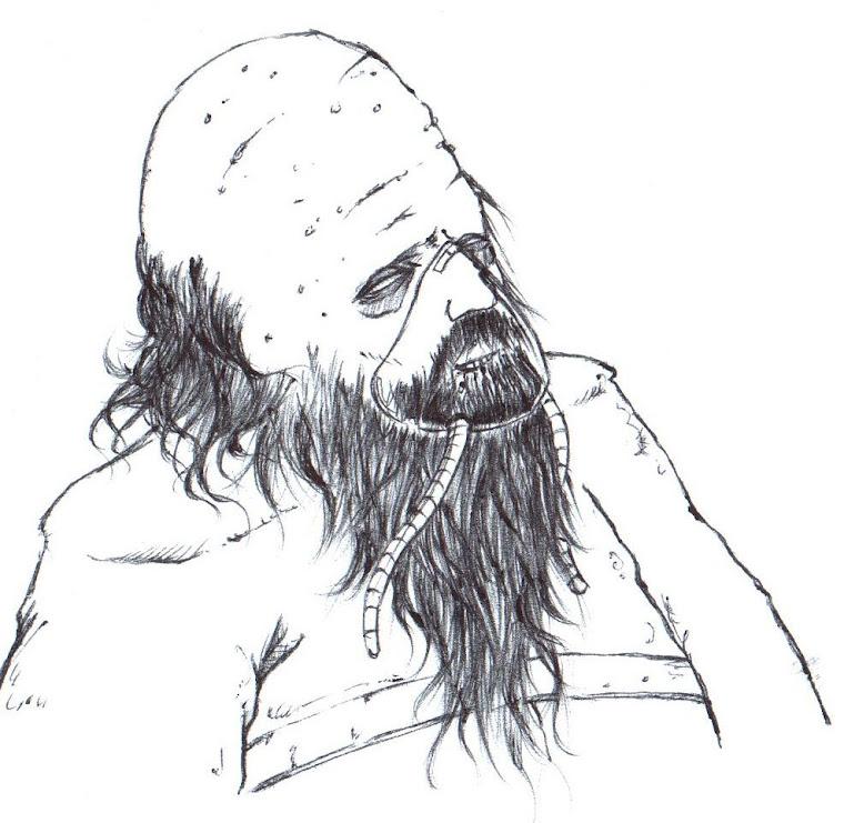 Dead Space boceto. 4