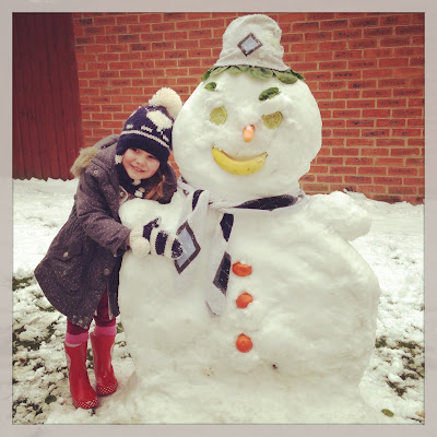 MC and the vegetable snowman