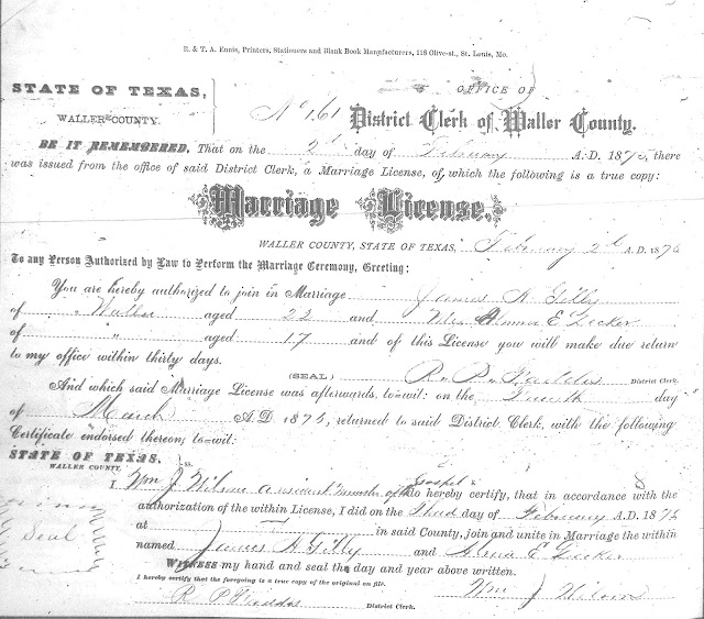 James gilley marriage commissioner