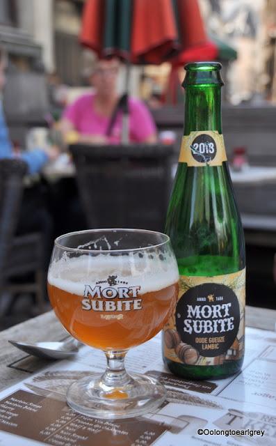 Mort Subite, Belgian Beer, Brussels