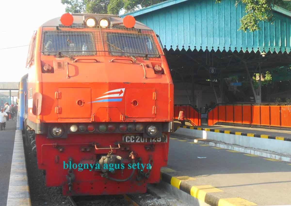 Perjalanan KA Rapih Dhoho 6-10 Oktober 2014