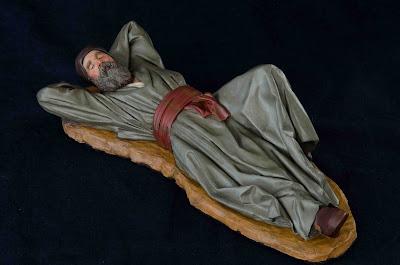 Belén presepe nativity krippe Arturo Serra escultura barro cocido 4