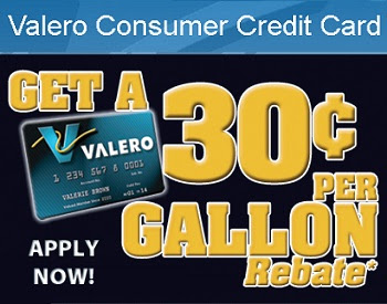 Apply Valero Consumer Credit Card on Www.Valero.com/MyCard