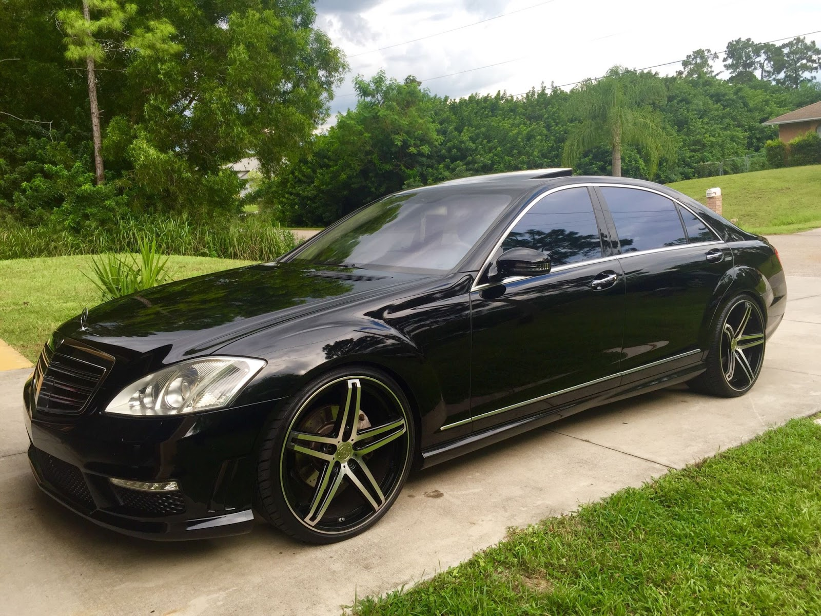 2007 mercedes benz s550 w221 custom benztuning for Mercedes benz s550 pictures