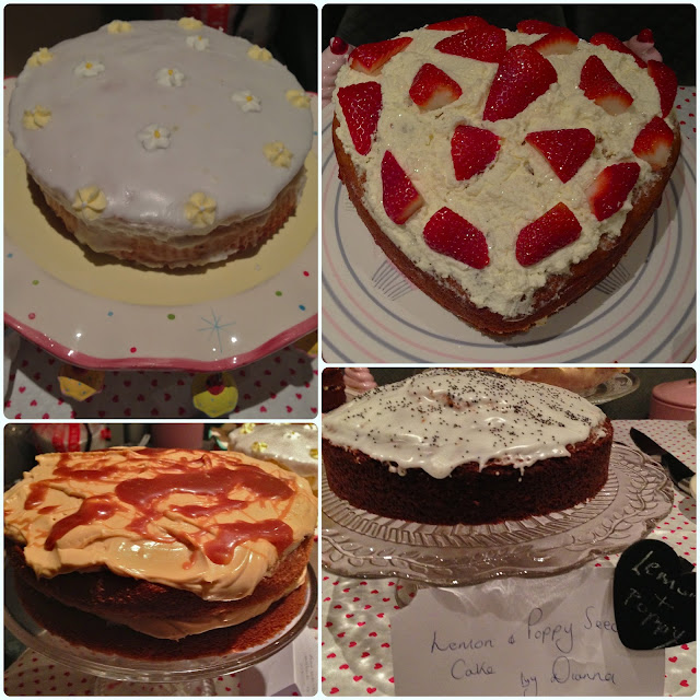 Bolton Clandestine Cake Club - Presentation to Horwich WI