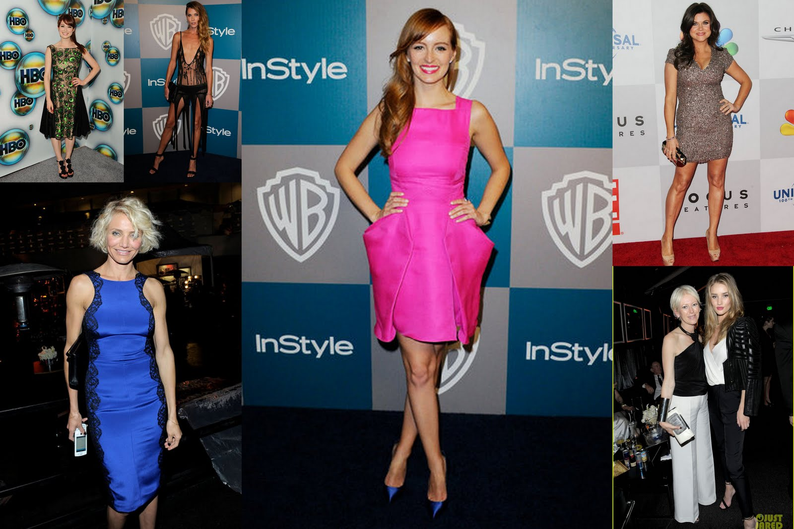 Ellie Kemper Topless http://smittenincle.blogspot.com/2012/01/golden-globes-after-party.html