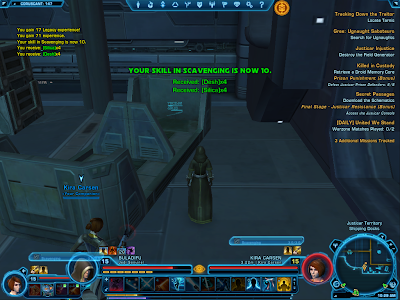 SWTOR - Material-gathering Crew Skill
