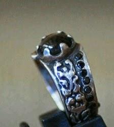 batu black opal ukuran kecil