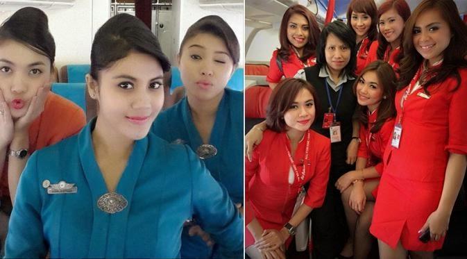 Foto : 5 Wajah Imut dan Cantik Pramugari Indonesia