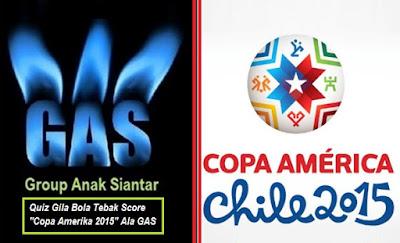 "Quiz Gila Bola Tebak Score ""Copa Amerika 2015"" diluncurkan di GAS"