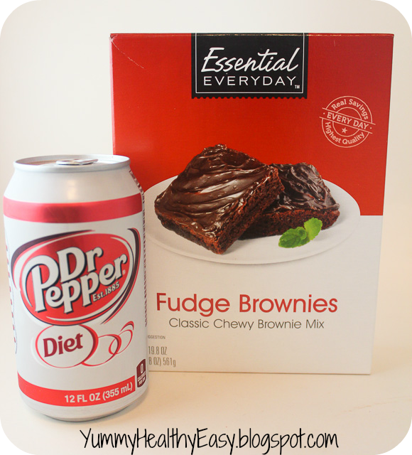 Low Fat Diet Dr. Pepper Brownies