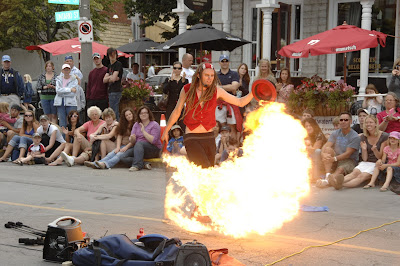 Kingston Buskers Festival Ontario Downtown
