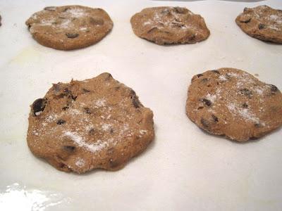 Vegan Cinnamon Espresso Chocolate Chip Cookies