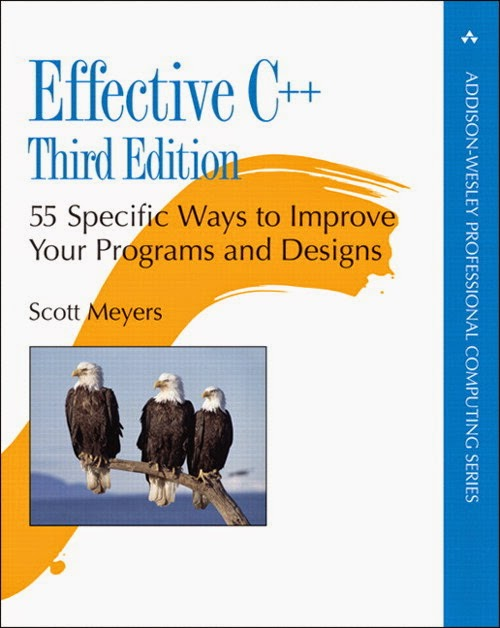 Effective C++ front cover