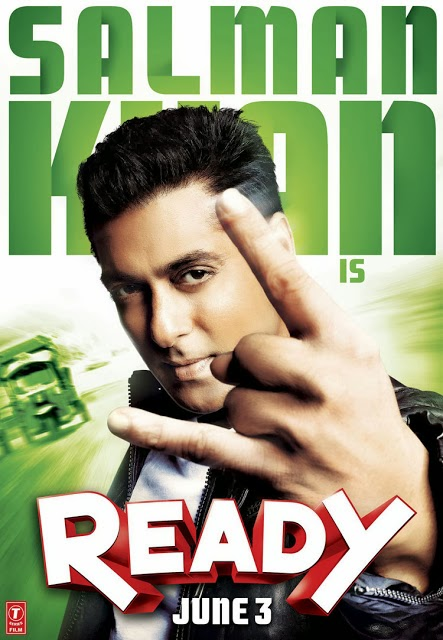 Poster Of Bollywood Movie Ready (2011) 300MB Compressed Small Size Pc Movie Free Download World4ufree.Org