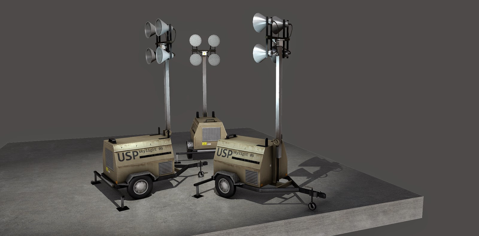 Generators and Floodlights