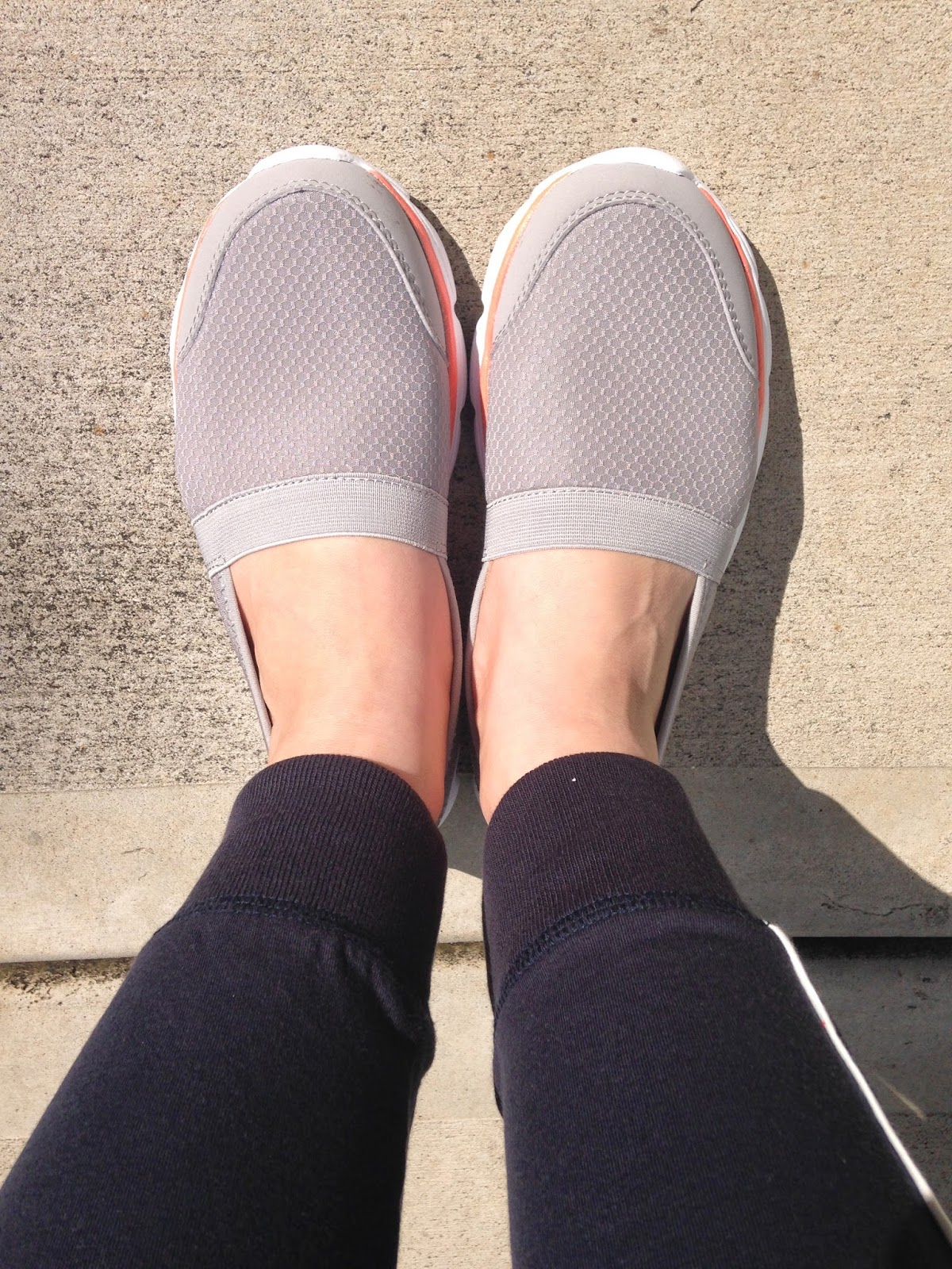Comfortable slip-on shoes