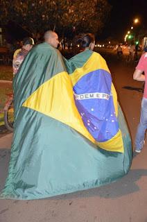 Manifestação em Três Lagoas - MS
