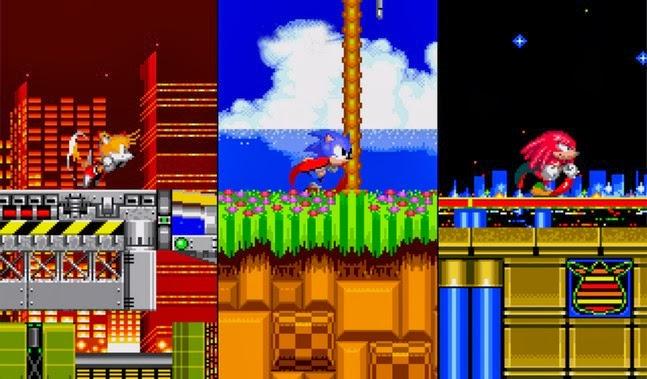 Sonic The Hedgehog android apk - Screenshoot