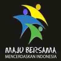 Gambar Atau Logo Maju Bersama Mencerdaskan Indonesia