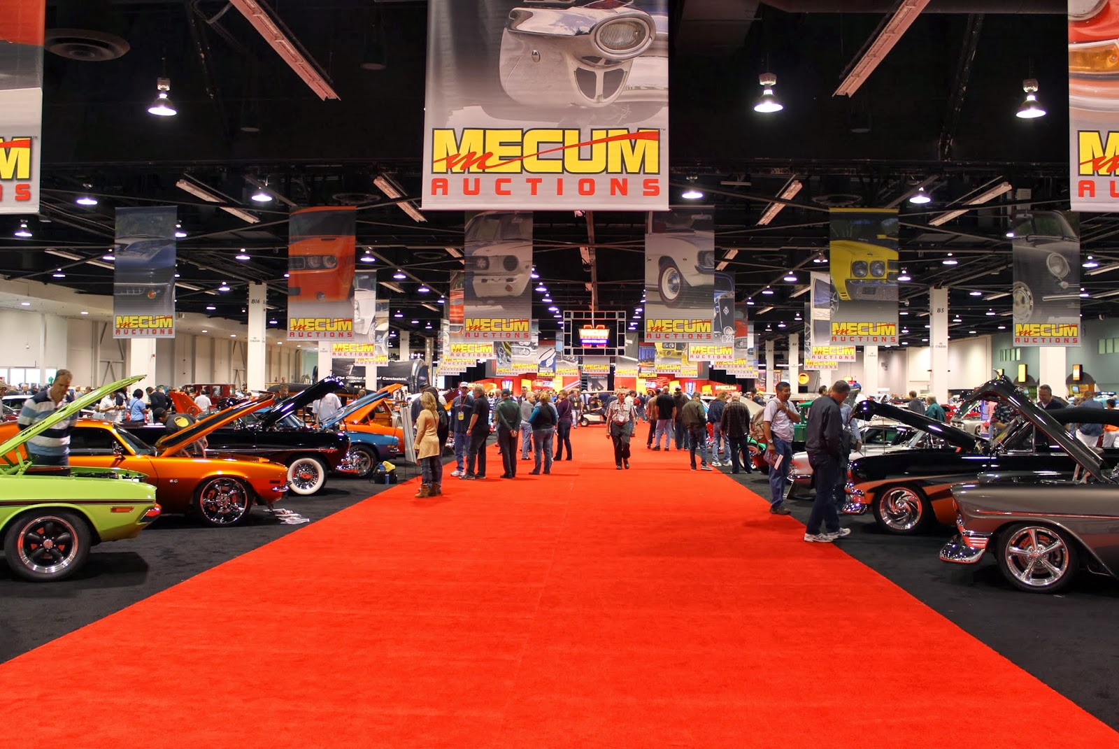 Covering Classic Cars : Photos from the 2013 Mecum Auto Auction in ...