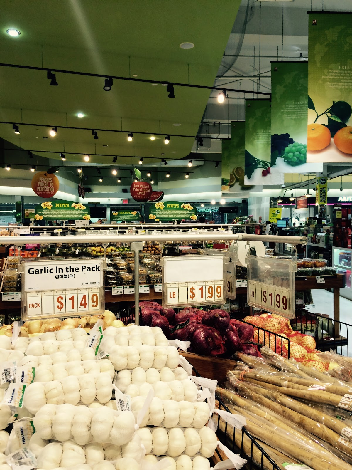 Shoprite can can sale 2015 - The Produce Section Of The Super H Mart The Korean Chain S Biggest Store In Bergen County