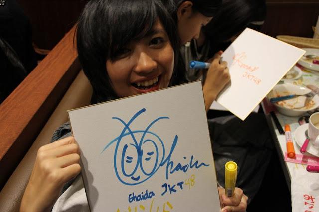Member JKT48 Favorite Versi Fans Jepang : Ghaida