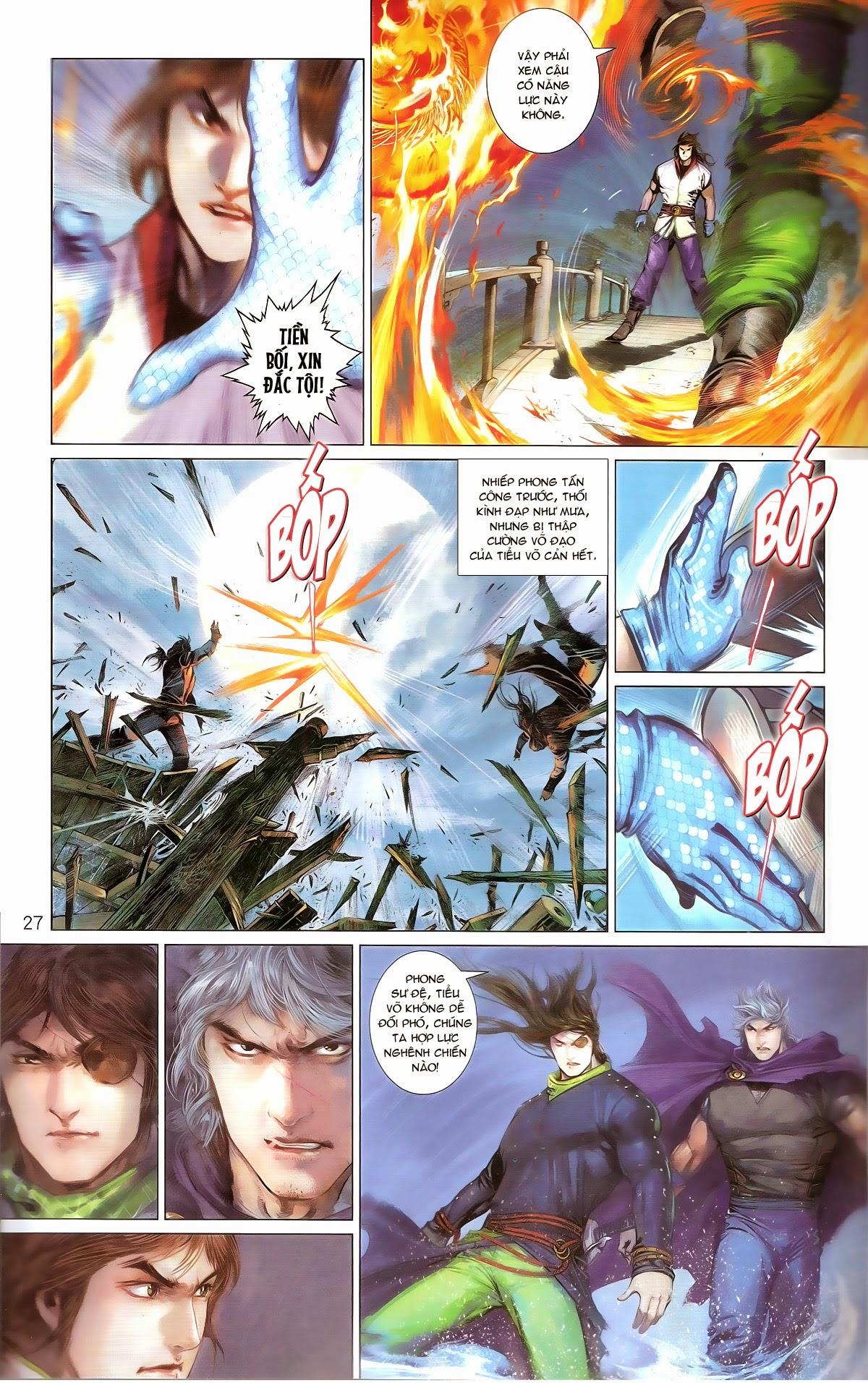 Phong Vân chap 674 – End Trang 29 - Mangak.info