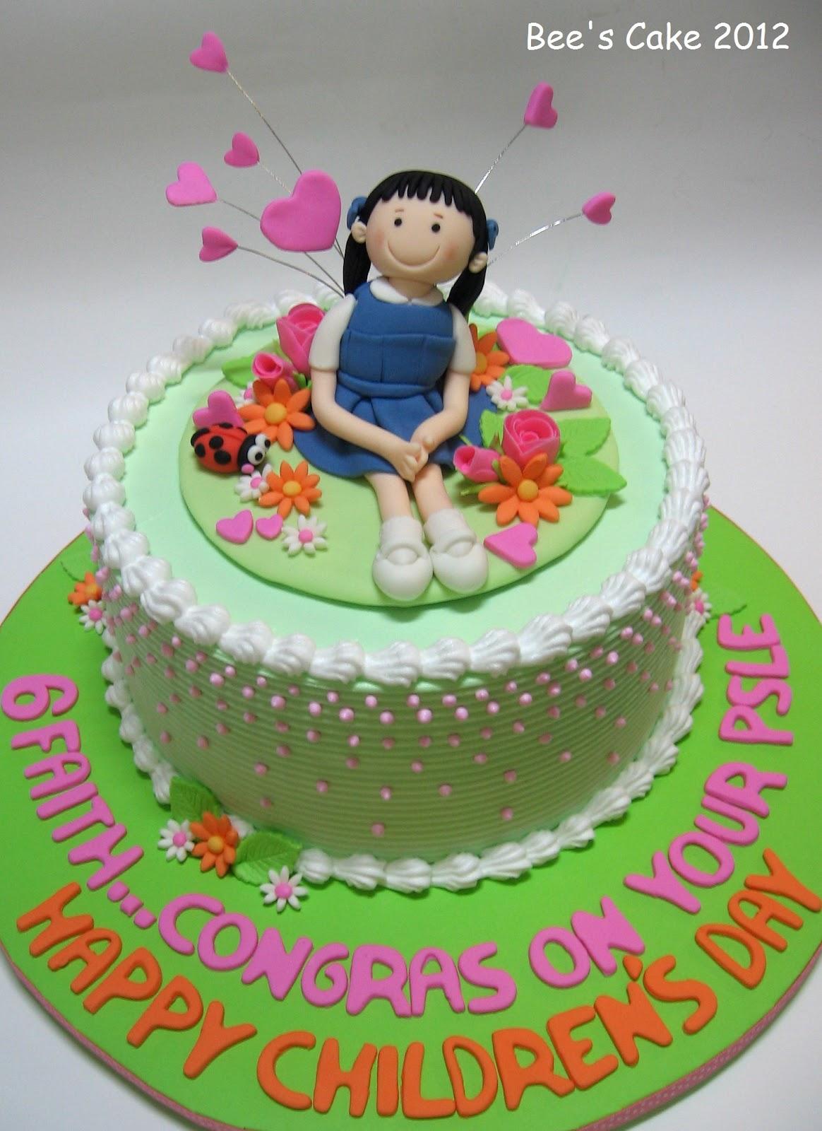 Bee S Cake Happy Children S Day