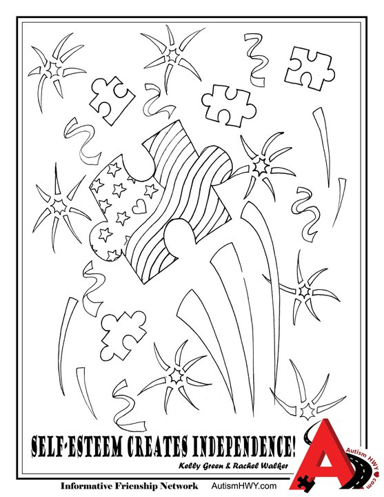 autism awareness month coloring pages - photo#16