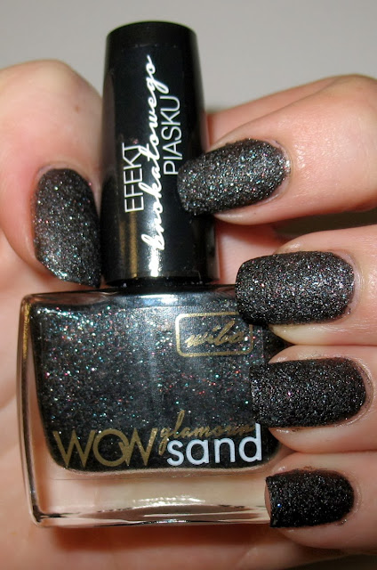 Grown Up Floral Nails i Wibo WOW Glamour Sand nr 4