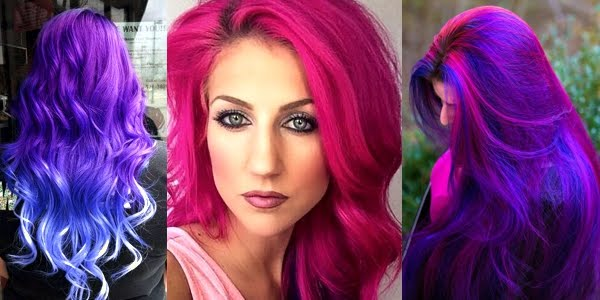 Bright Hair Color Ideas For This Summer Picture