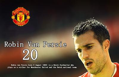 Manchester United  2014 Squad - Robin Van Persie