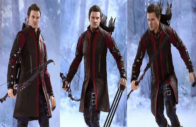 Avengers 2 Jeremy Renner Leather Coat