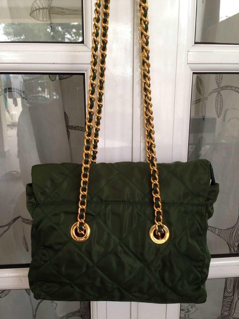 Prada Quilted Nylon Bag