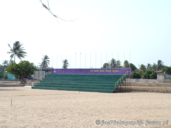 Hambanthota is ready for South Asian Beach Sports