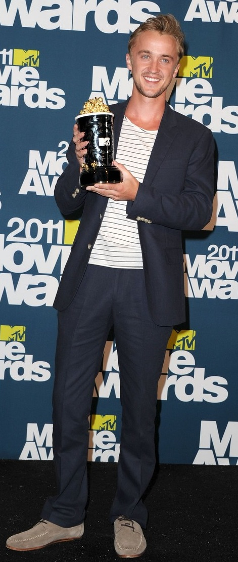 tom felton 2011 mtv awards. for the evening Tom Felton