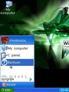 menjadikan tampilan hp menjadi windows xp