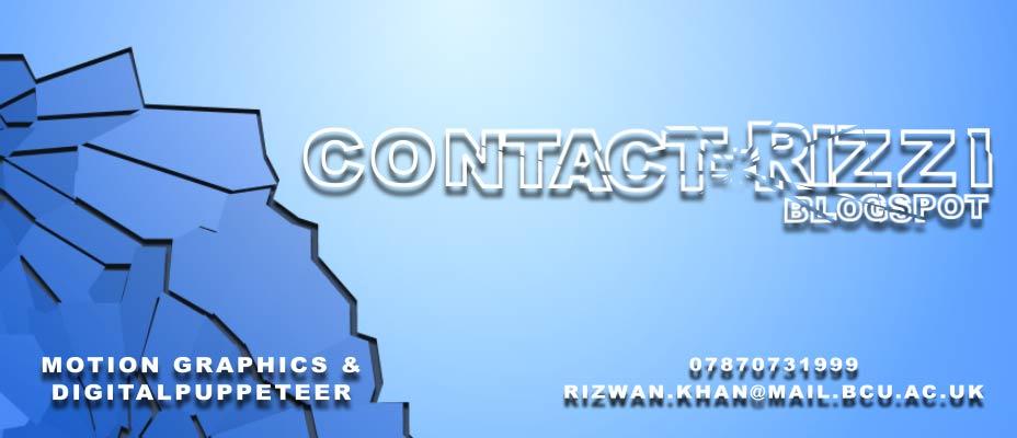 Contact RIzzI..