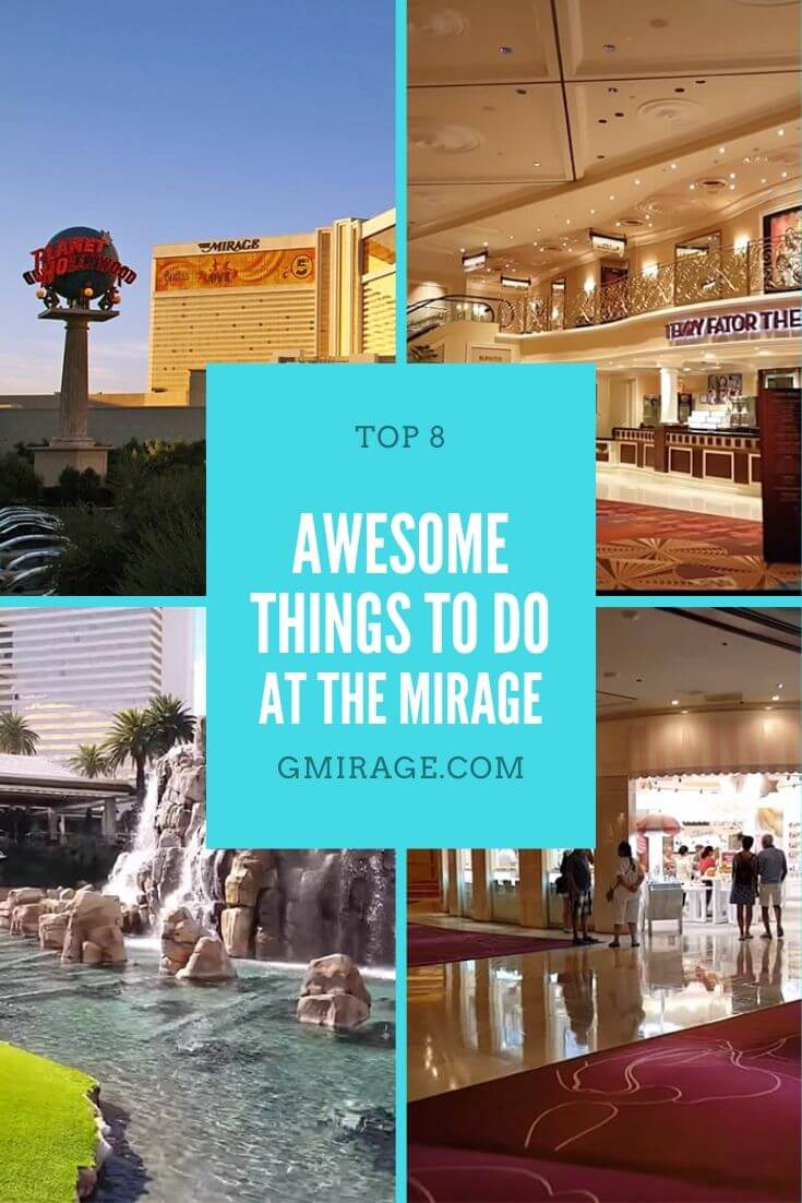 The Mirage is just one of the many hotel-casinos on the Las Vegas trip that offers a full vacation experience without you leaving its premises. It is one of Las Vegas Strip's all-experience hotel that families can opt to stay for a family break.