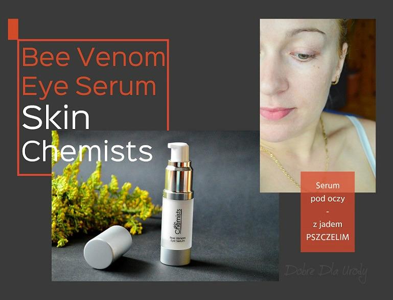 SkinChemists Bee Venom Eye Serum - Serum pod oczy z jadem pszczelim