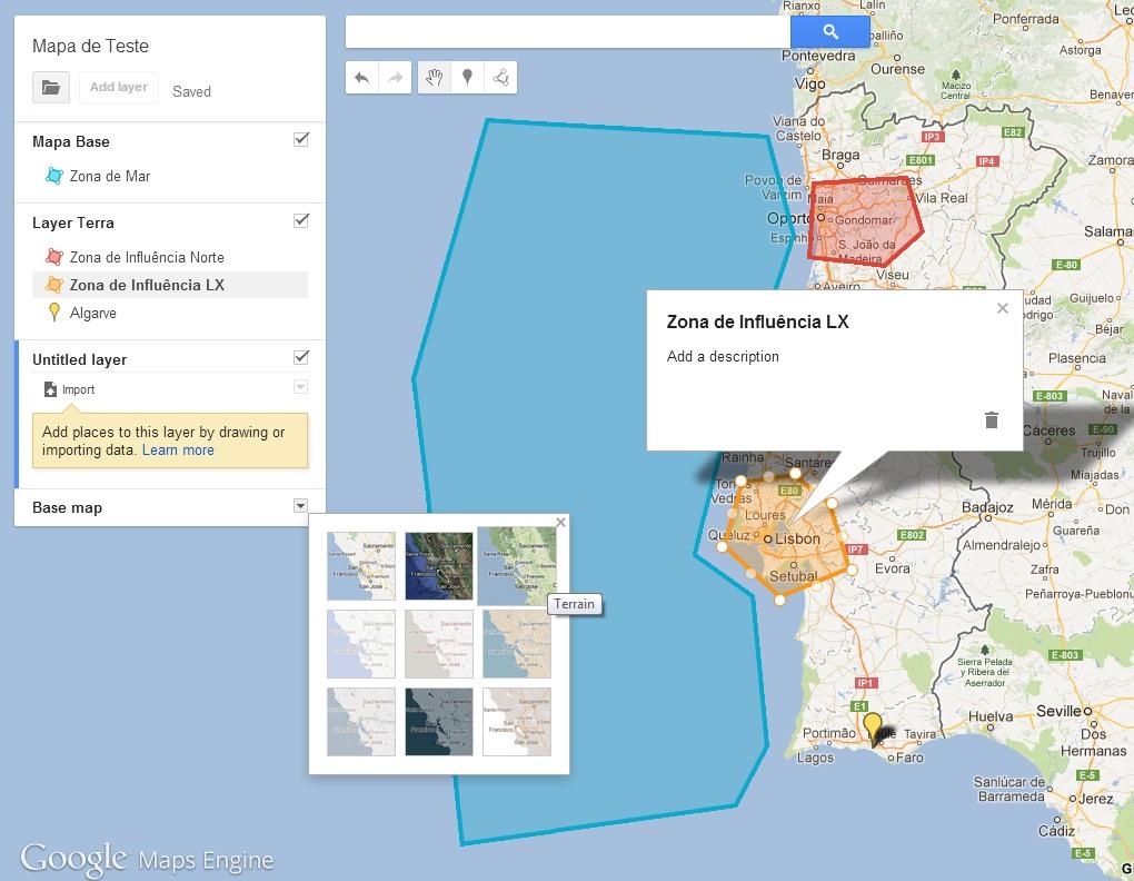 google maps engine lite cria os teus pr prios mapas aberto at de madrugada. Black Bedroom Furniture Sets. Home Design Ideas
