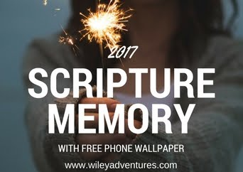 2017 Scripture Memory Wallpaper