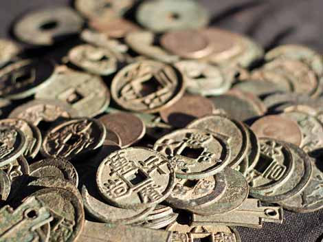 Ancient china trade and money system