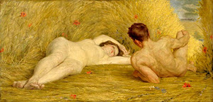 Auguste Leveque - The Lovers, 1918